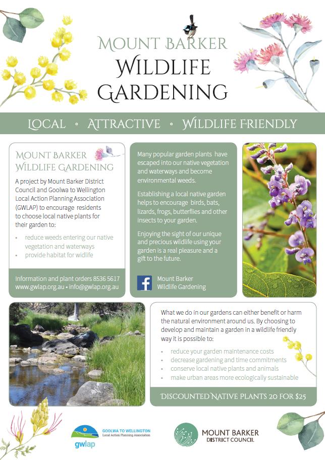 Mount Barker Wildlife Gardening Project - Mount Barker District